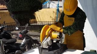 Secretaría de Gobierno inicia Sí al desarme, sí a la paz en Xochimilco