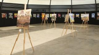 Personas privadas de la libertad presentan obras pictóricas en Faro Tláhuac