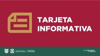 SECGOB INFORMA EN RELACIÓN CON LOS HECHOS EN PREDIO DE LA CALLE TURÍN